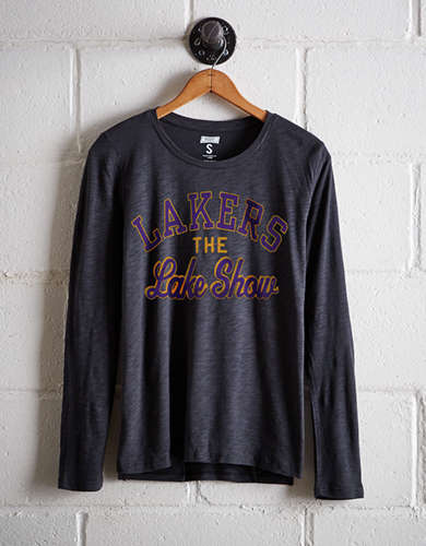 Tailgate Women's LA Lakers Long Sleeve T-Shirt - Free Returns