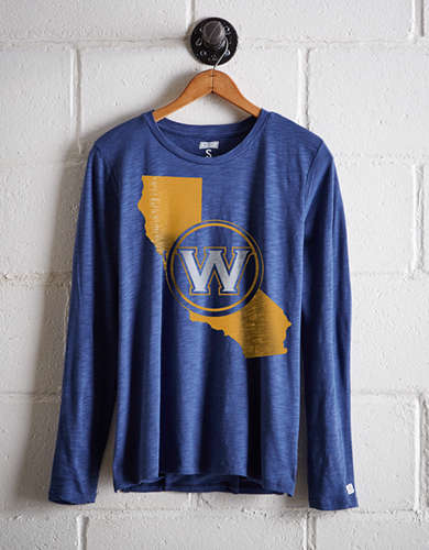 Tailgate Women's Golden State Long Sleeve T-Shirt - Free Returns