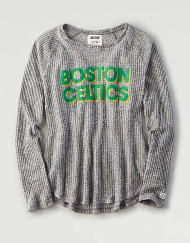 Tailgate Women's Boston Celtics Waffle Shirt