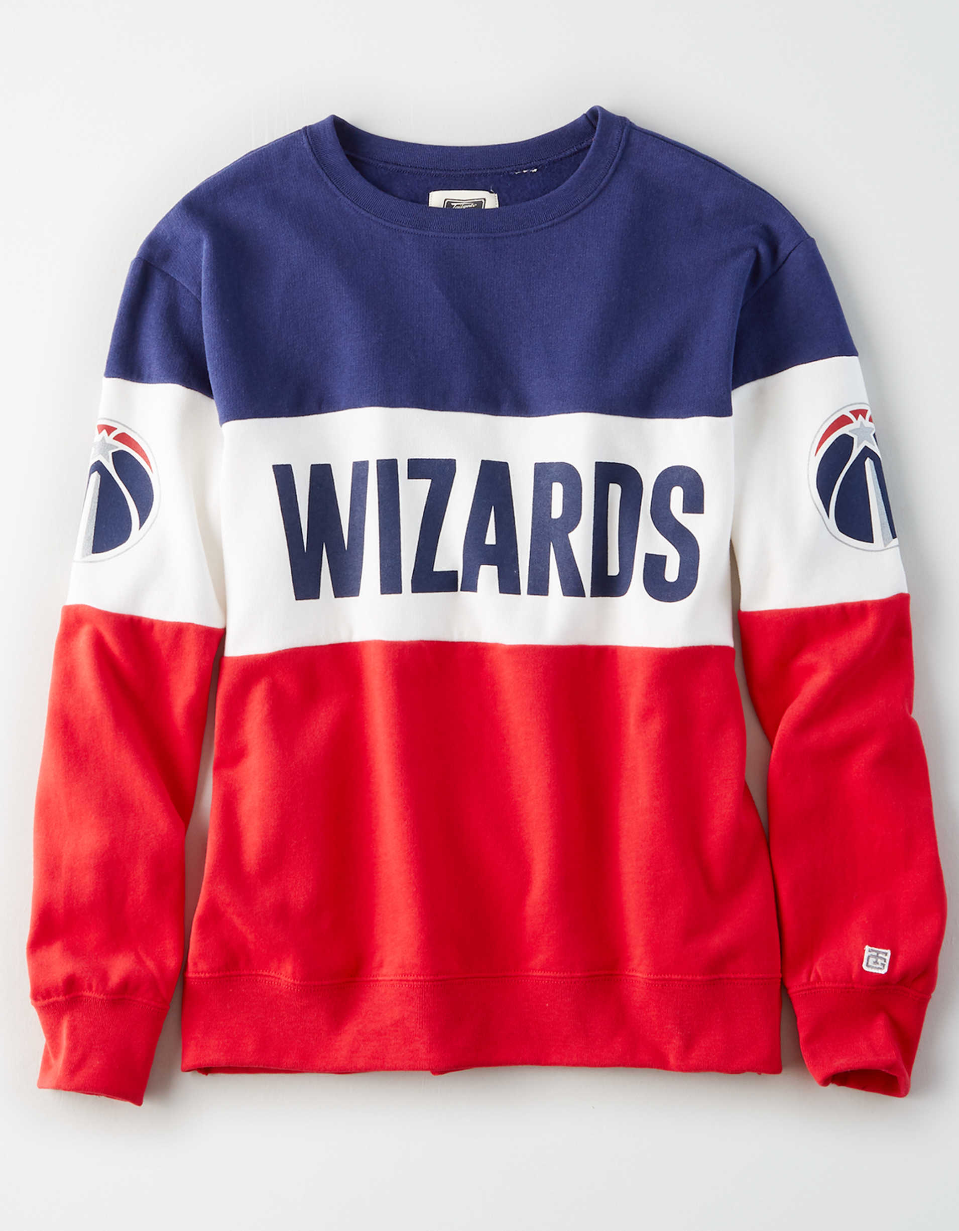 Tailgate Women's Washington Wizards Colorblock Sweatshirt