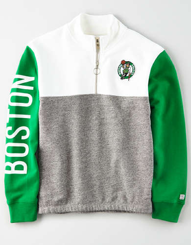 Tailgate Women's Boston Celtics Quarter-Zip Sweatshirt