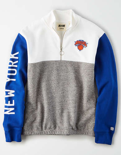 Tailgate Women's NY Knicks Quarter-Zip Sweatshirt