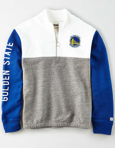 Tailgate Women's Golden State Warriors Quarter-Zip Sweatshirt