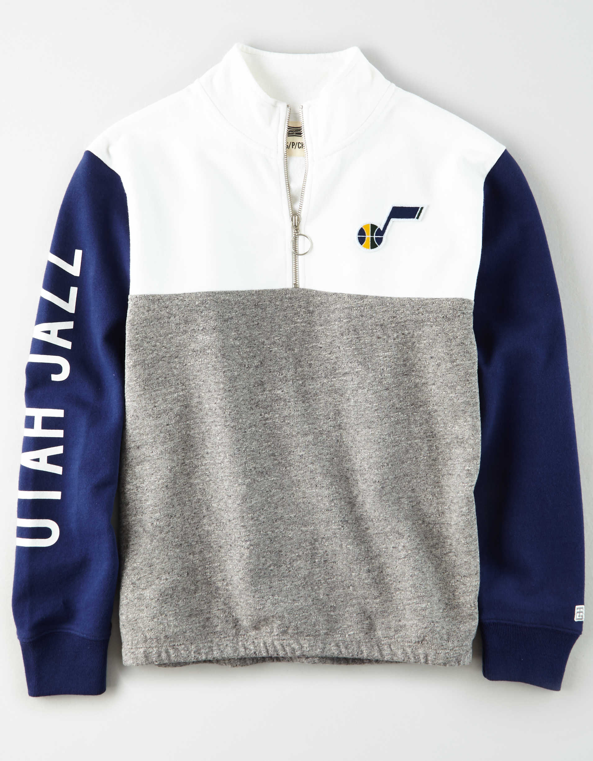 Tailgate Women's Utah Jazz Quarter-Zip Sweatshirt
