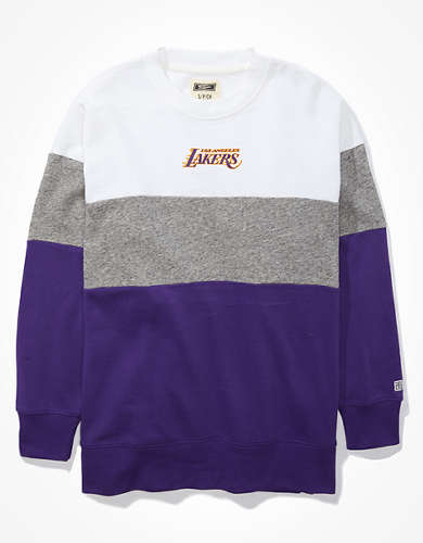Tailgate Women's LA Lakers Colorblock Sweatshirt