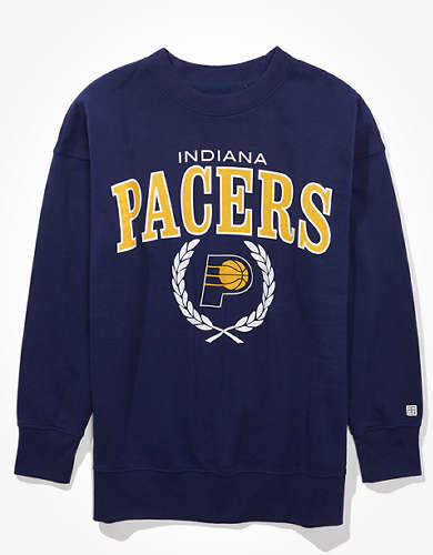 Tailgate Women's Indiana Pacers Oversized Fleece Sweatshirt