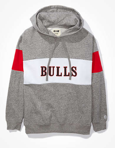 Tailgate Women's Chicago Bulls Colorblock Hoodie