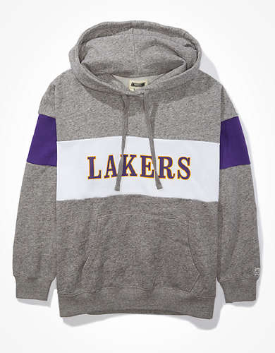 Tailgate Women's LA Lakers Colorblock Hoodie