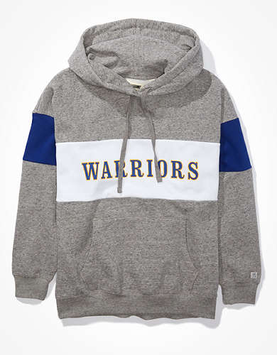 Tailgate Women's Golden State Warriors Colorblock Hoodie