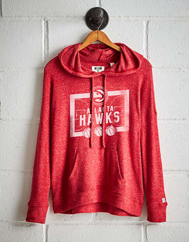 Tailgate Women's Atlanta Hawks Plush Hoodie - Free Returns