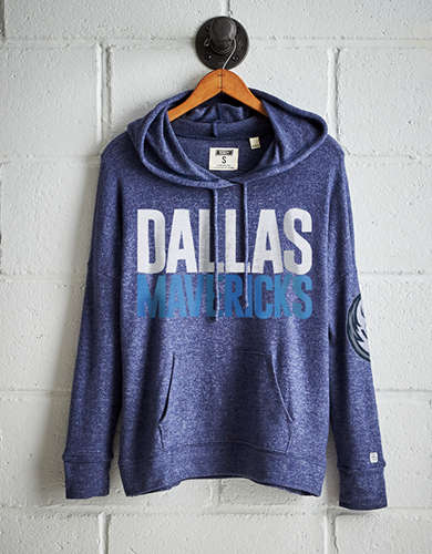 Tailgate Women's Dallas Mavericks Plush Hoodie - Free Returns