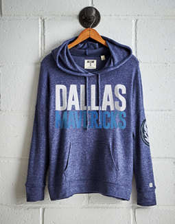 Tailgate Women's Dallas Mavericks Plush Hoodie