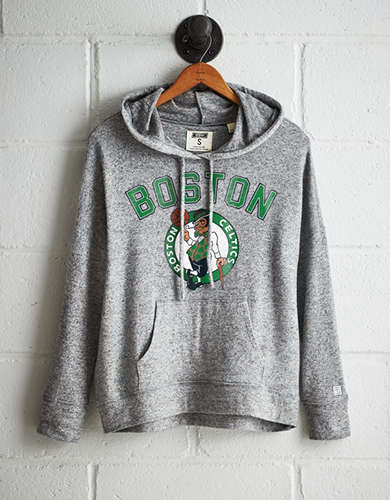 Tailgate Women's Boston Celtics Plush Hoodie - Free Returns