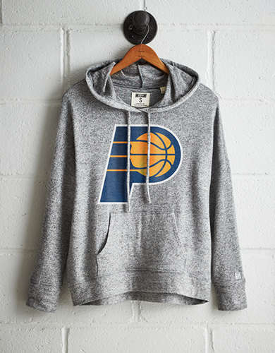 Tailgate Women's Indiana Pacers Plush Hoodie - Free returns