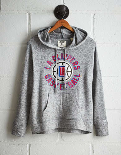 Tailgate Women's LA Clippers Plush Hoodie - Free Returns
