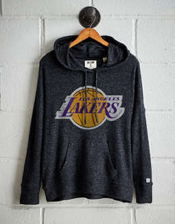 Tailgate Women's LA Lakers Plush Hoodie