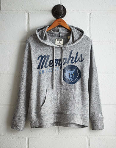 Tailgate Women's Memphis Grizzlies Plush Hoodie - Free Returns