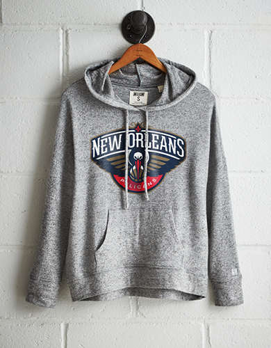Tailgate Women's New Orleans Plush Hoodie - Free Returns
