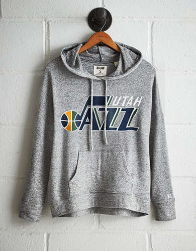 Tailgate Women's Utah Jazz Plush Hoodie - Free returns