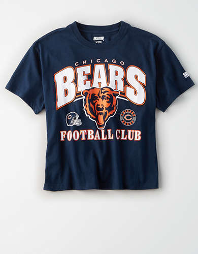 Tailgate Women's Chicago Bears Cropped T-Shirt