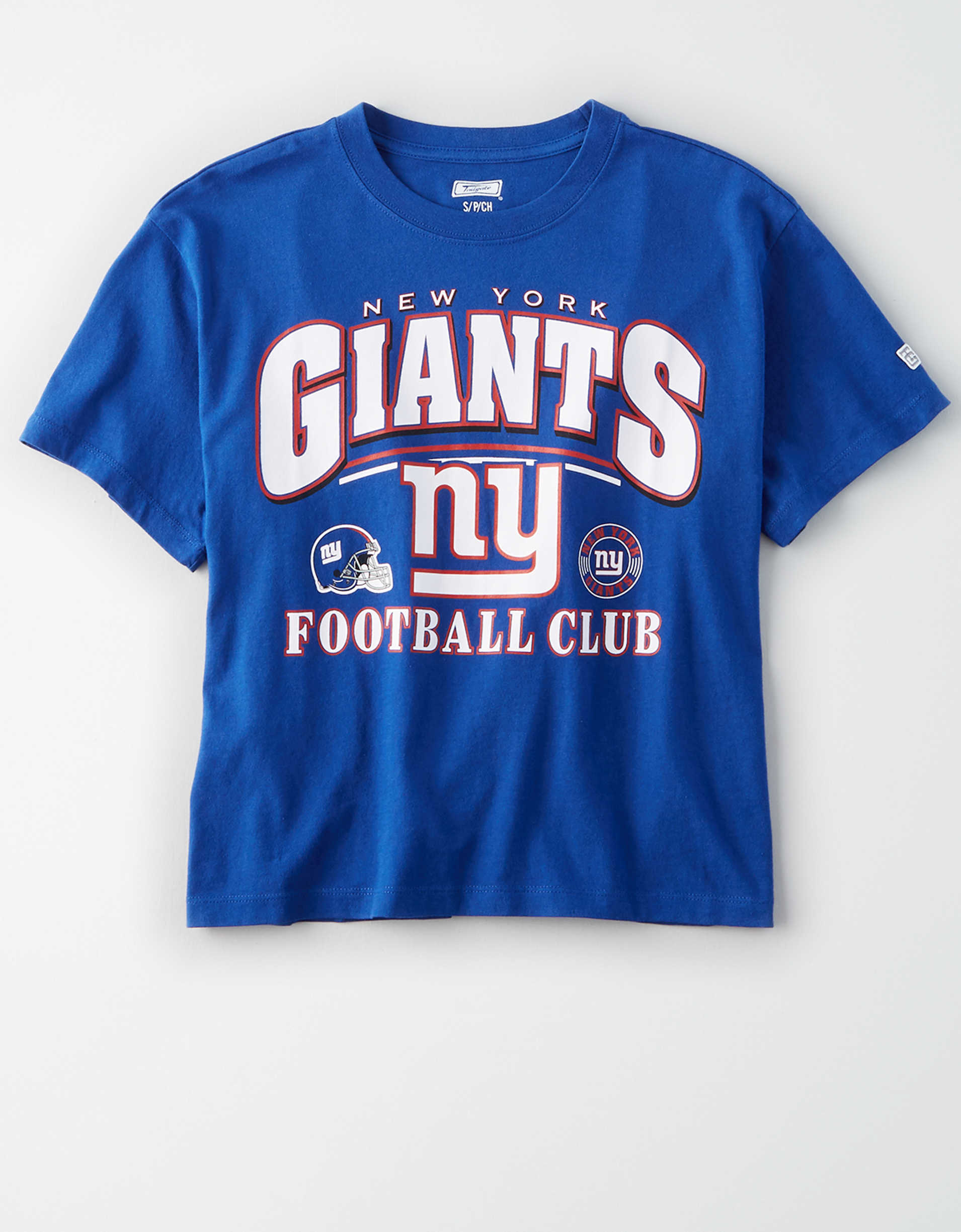 Tailgate Women's New York Giants Cropped T-Shirt