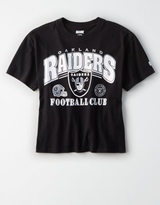 Oakland Raiders Cropped T-Shirt