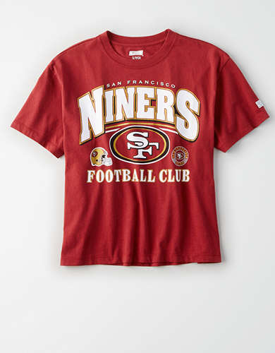 Tailgate Women's San Francisco 49ers Cropped T-Shirt