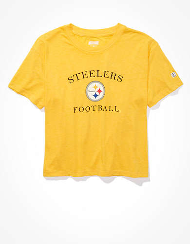 Tailgate Women's Pittsburgh Steelers Retro Graphic T-Shirt