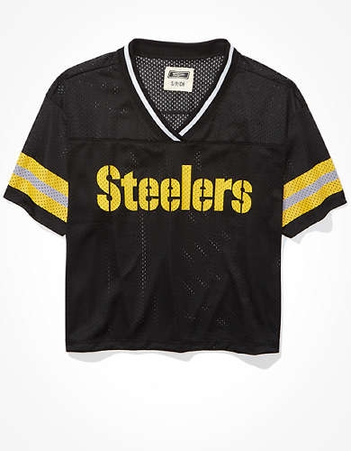 Tailgate Women's Pittsburgh Steelers Mesh Jersey