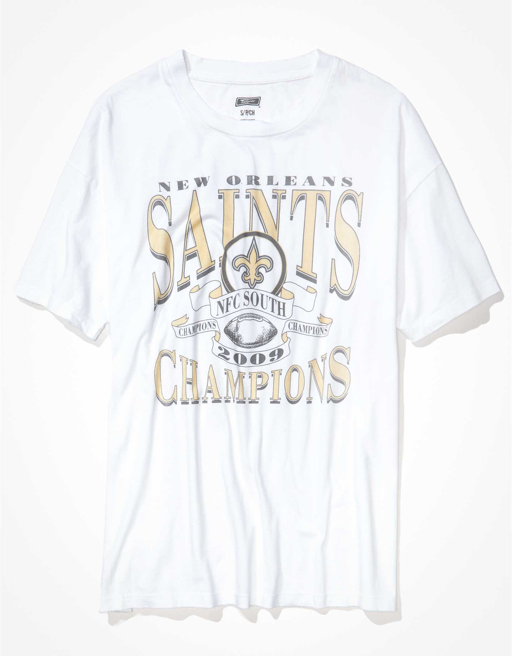 Tailgate Women's New Orleans Saints Oversized Graphic T-Shirt