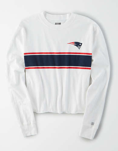 Tailgate Women's New England Patriots Long Sleeve T-Shirt