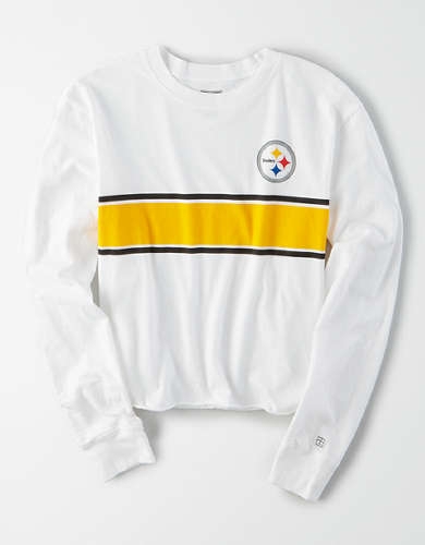 Tailgate Women's Pittsburgh Steelers Long Sleeve T-Shirt