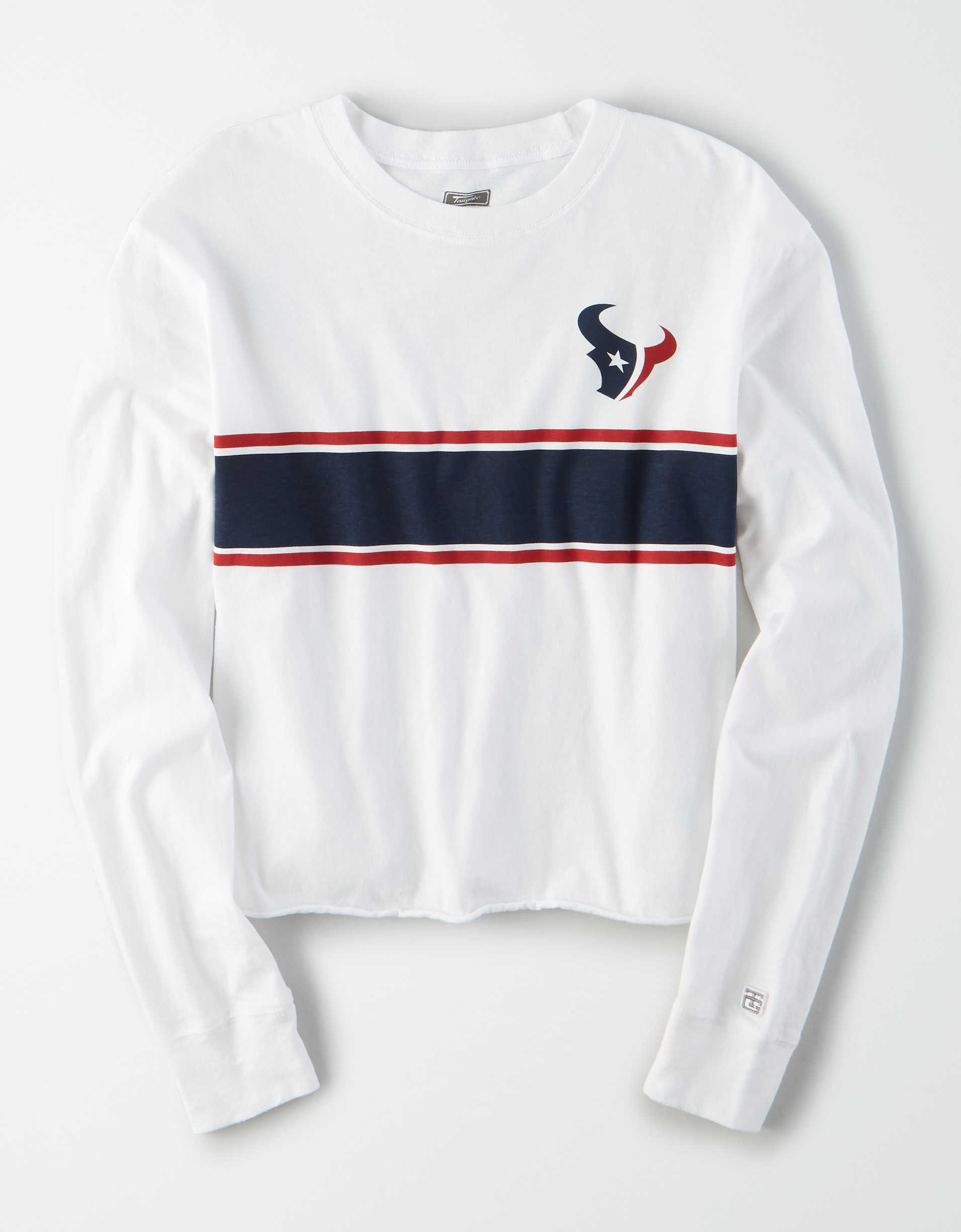 Tailgate Women's Houston Texans Long Sleeve T-Shirt