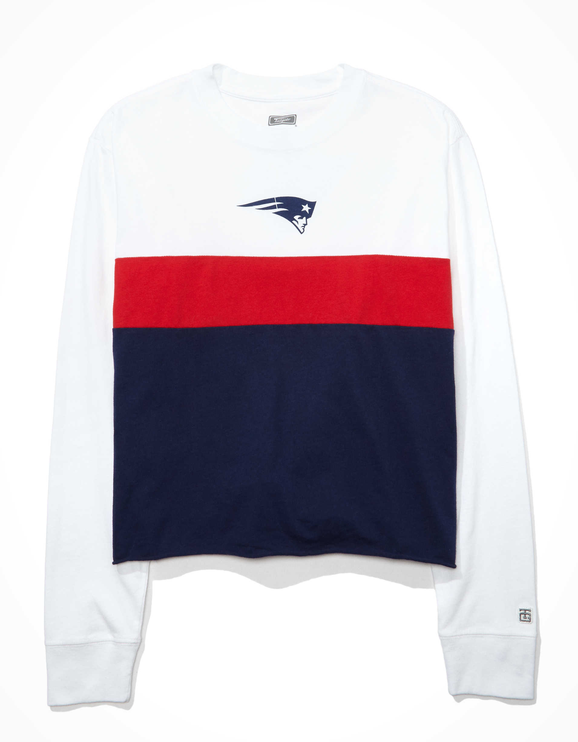 Tailgate Women's New England Patriots Long-Sleeve T-Shirt