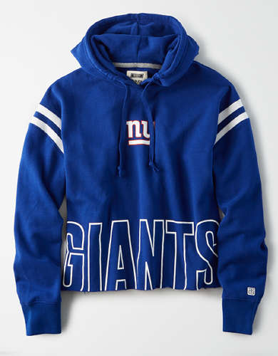 Tailgate Women's New York Giants Cropped Hoodie