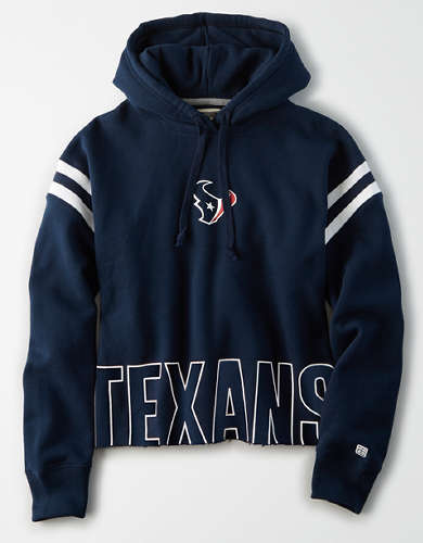 Tailgate Women's Houston Texans Cropped Hoodie