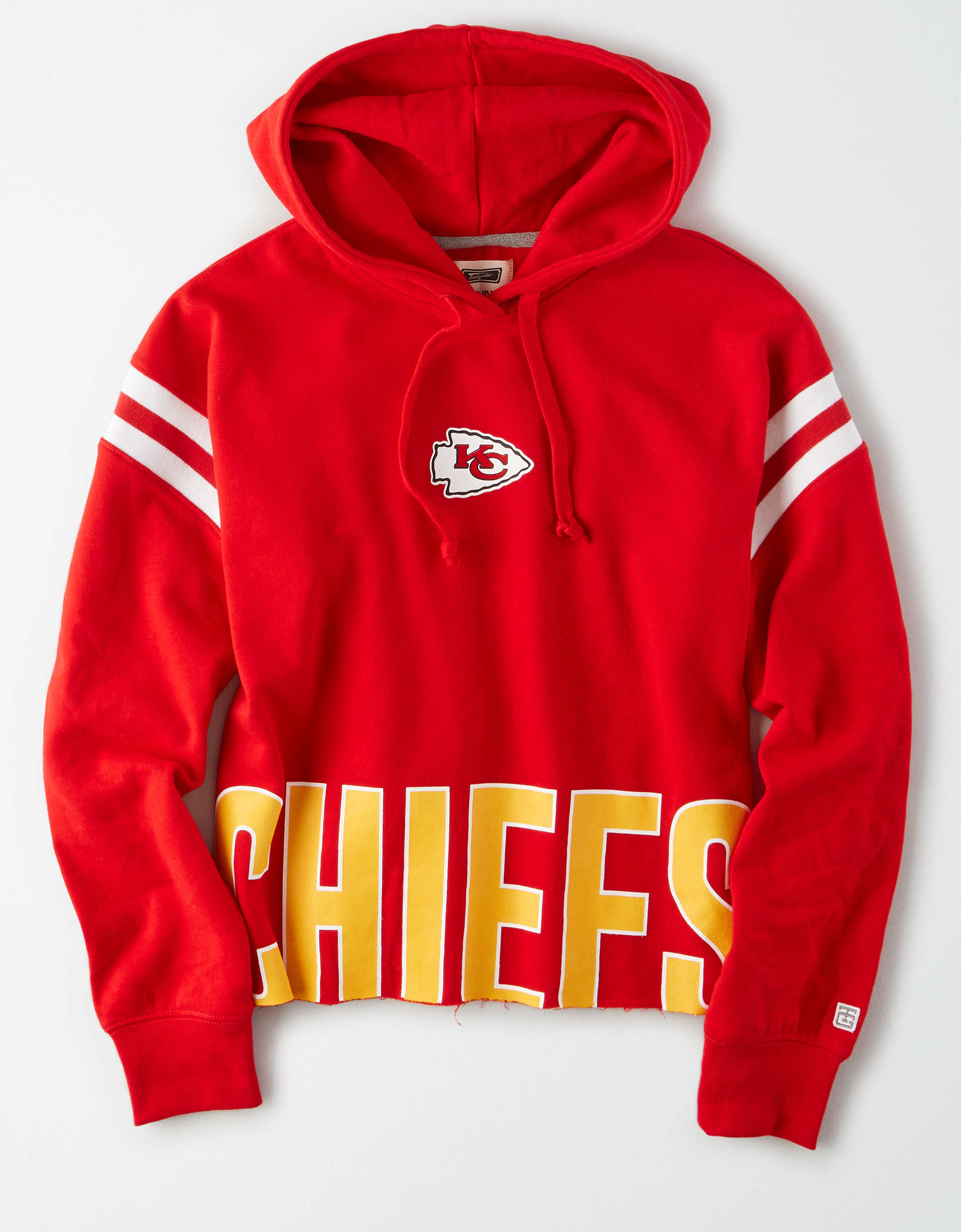 Tailgate Women's Kansas City Chiefs Cropped Hoodie