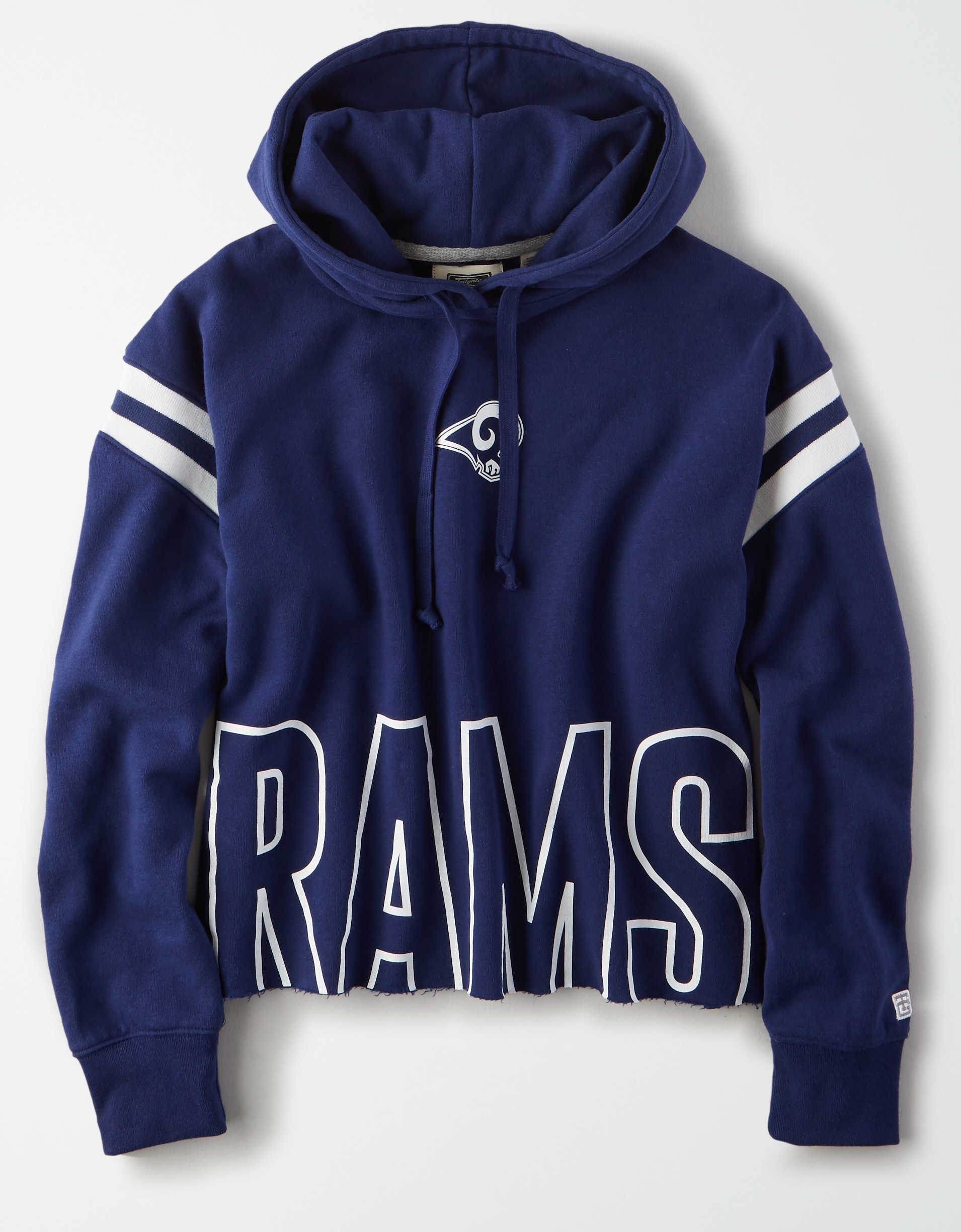 Tailgate Women's Los Angeles Rams Cropped Hoodie