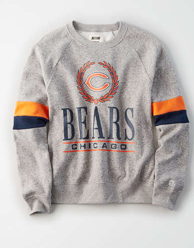 Tailgate Women's Chicago Bears Raglan Sweatshirt