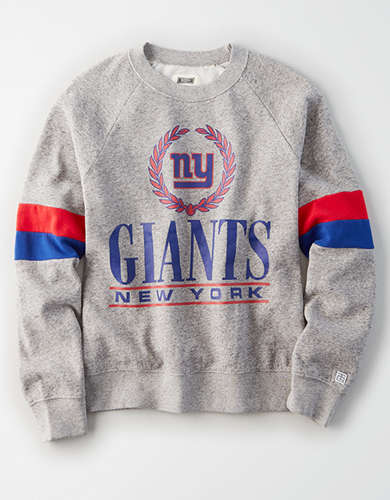 Tailgate Women's New York Giants Raglan Sweatshirt