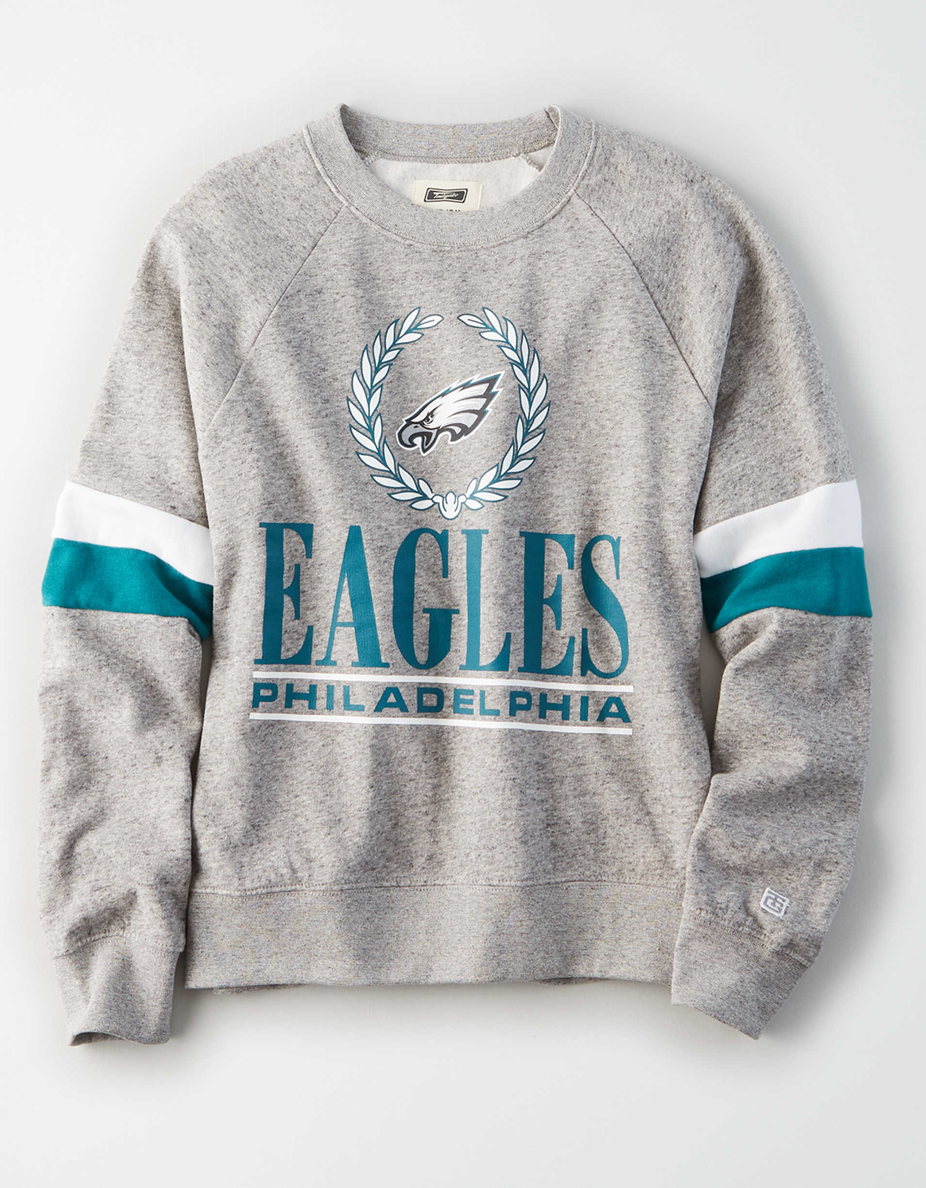 Tailgate Women's Philadelphia Eagles Raglan Sweatshirt