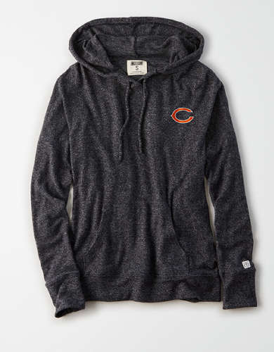 Tailgate Women's Chicago Bears Plush Hoodie
