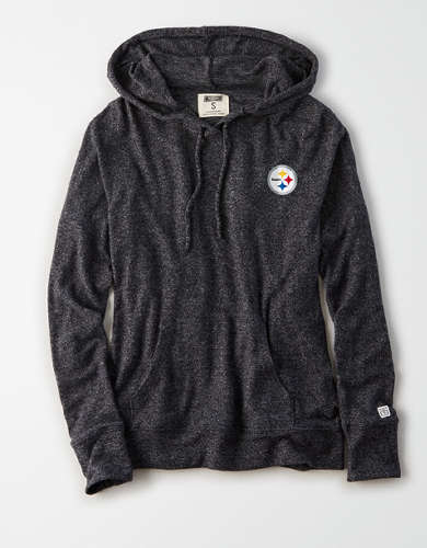 Tailgate Women's Pittsburgh Steelers Plush Hoodie