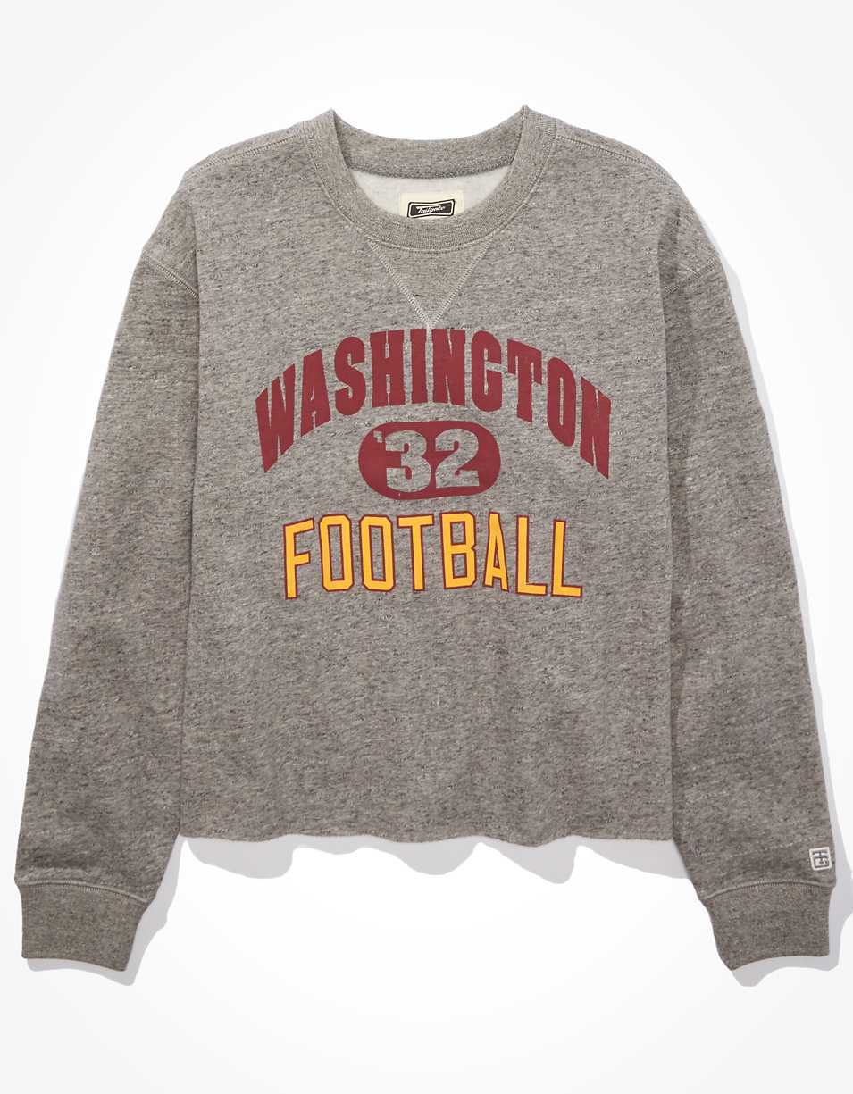 Tailgate Women's Washington Football Cut-Off Sweatshirt
