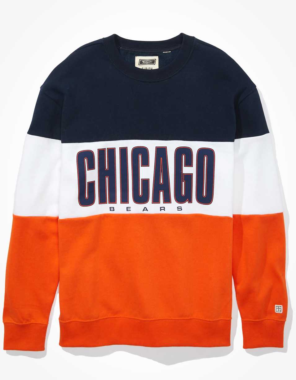 Tailgate Women's Chicago Bears Colorblock Sweatshirt