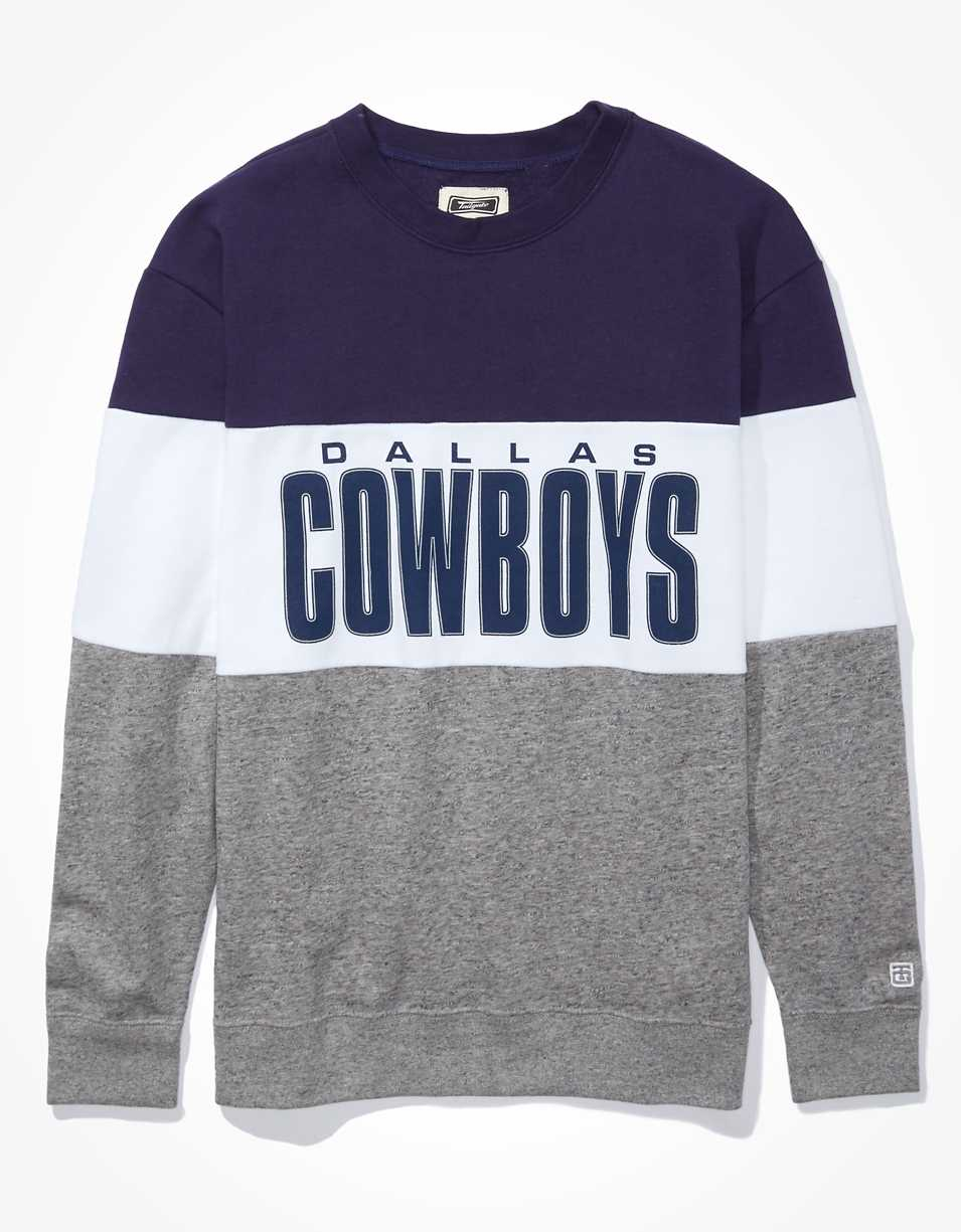 Tailgate Women's Dallas Cowboys Colorblock Sweatshirt