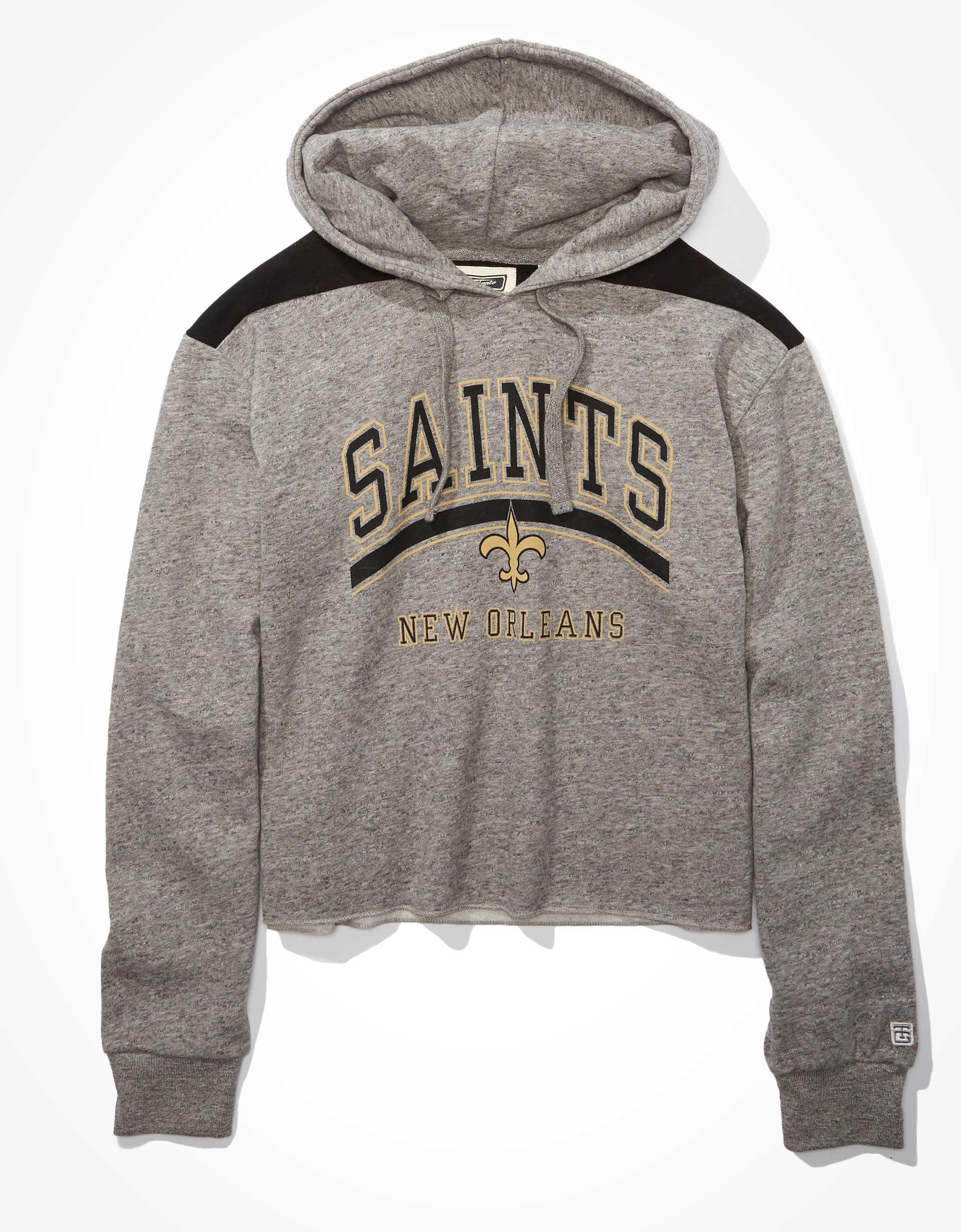Tailgate Women's New Orleans Saints Cropped Hoodie