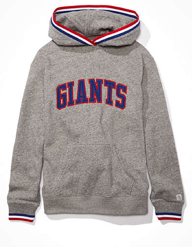 Tailgate Women's New York Giants Tipped Hoodie