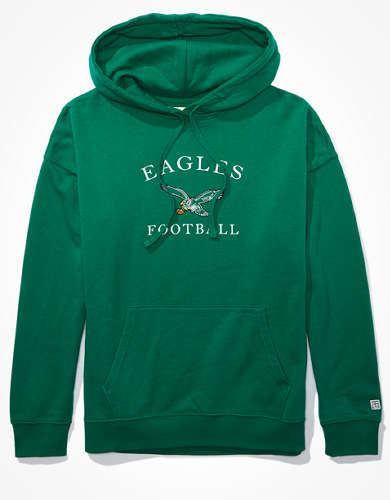 Tailgate Women's Philadelphia Eagles Oversized Hoodie