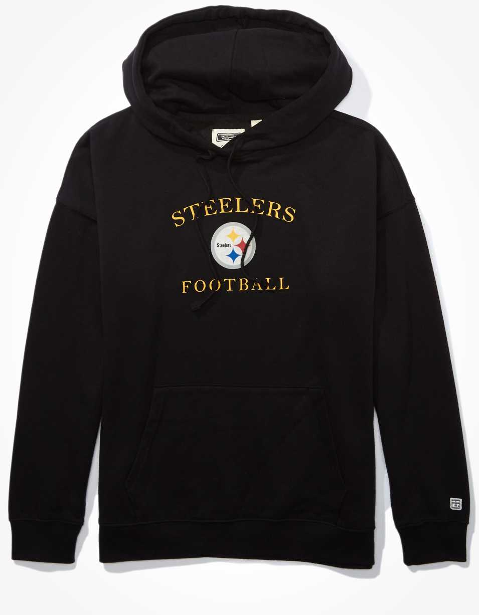 Tailgate Women's Pittsburgh Steelers Oversized Hoodie